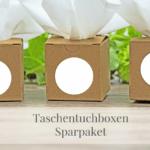 Sparpaket-Taschentücher