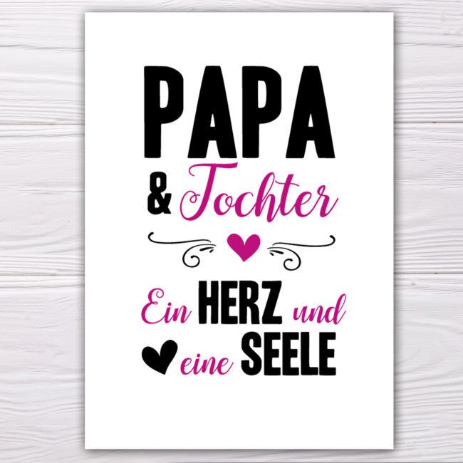 papa mit tochter