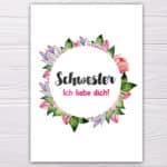 Schwester-Ichliebedich-rosa-grün