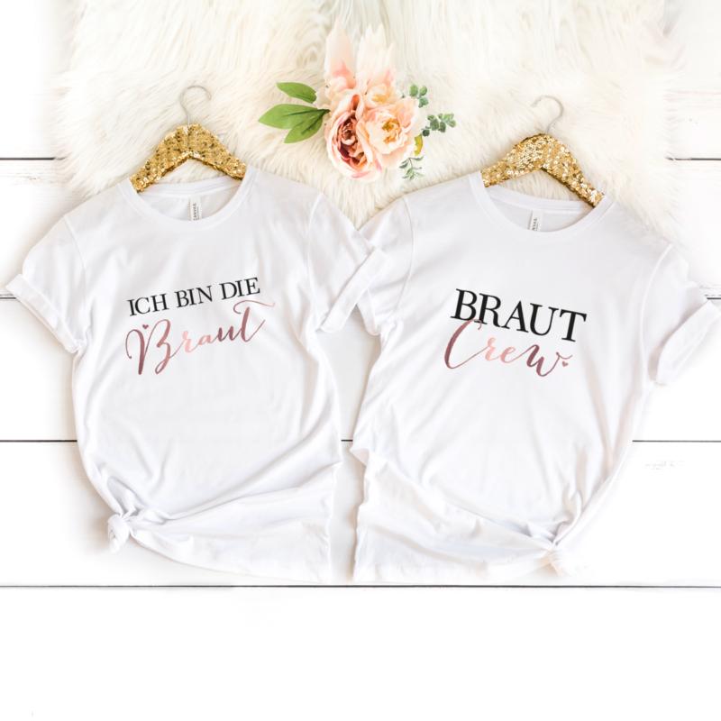 Braut-Crew-rosegold