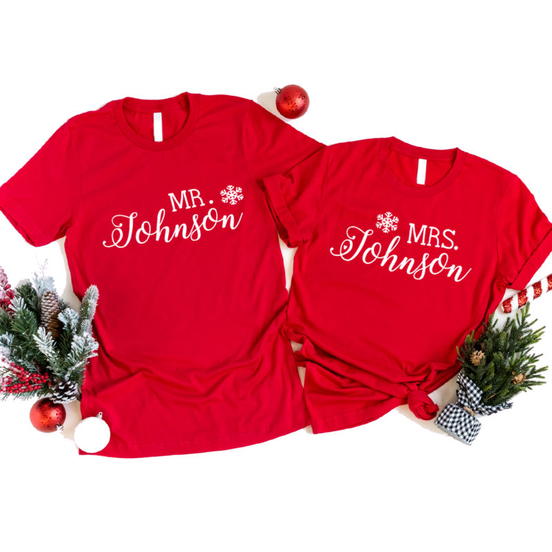 Weihnachtsoutfit, Weihnachts TShirt, Weihnachts Shirt, Weihnachten Leiberl, Weihnachten T-Shirt, Weihnachten Shirt, Familienoutfits Weihnachten, Familienoutfits Advent, MrundMrs Shirt, Mr und Mrs TShirt, Mr und Mrs Leiberl Weihnachten