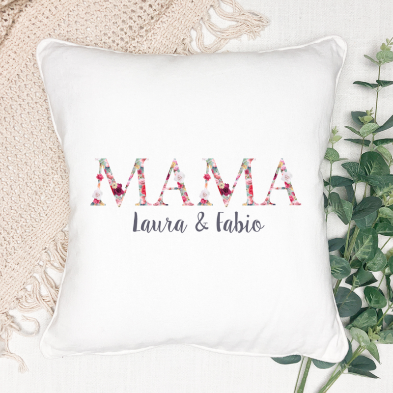 personalisiertes Kissen, Kissen Mama, Kissen Muttertag, Muttertag personalisiert, Geschenk Muttertag, Geschenk Muttertag personalisiert, Geschenk Mama, Mama personalisiert