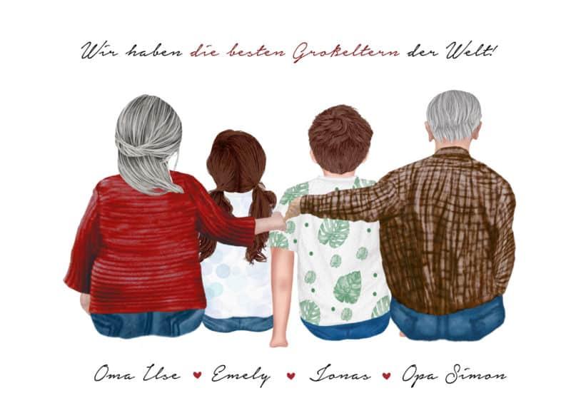 Großeltern Geschenk personalisiert, Großeltern Poster personalisiert, Großeltern personalisiert, personalisiertes Poster für Oma, Oma Geschenk personalisiert, Opa Geschenk personalisiert, Oma Poster personalisiert, Oma Print personalisiert, Opa Geschenk personalisiert