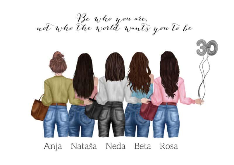 Poster personalisiert, Poster Freundschaft, Poster Freundinnen, Geschenk Freundschaft, Geschenk Freundschaft personalisiert, Freundinnen personalisiert, Geschenk personalisiert, Poster personalisiert