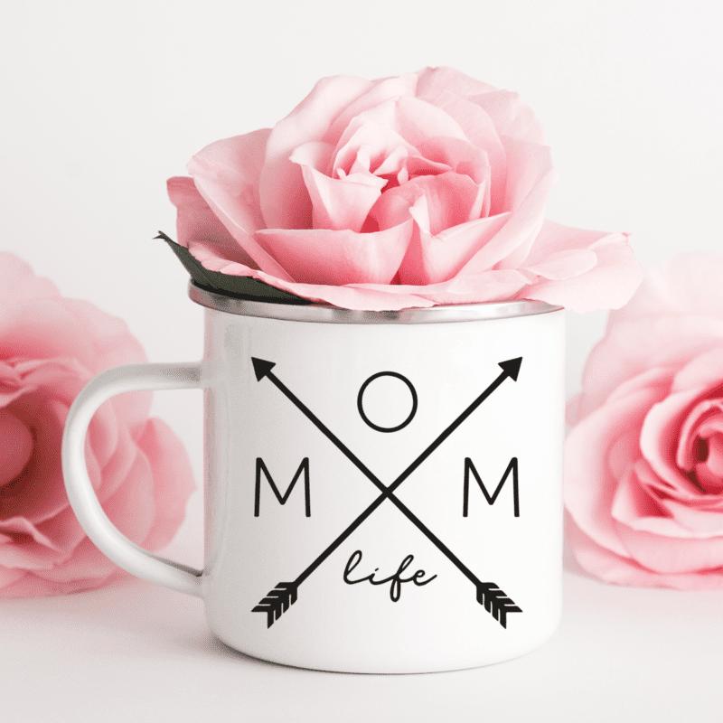 Emaille-Tasse, Mama Geschenk , Mama Tasse , Mama Emaille-Tasse , Muttertagsgeschenk personalisiert, Mama Geschenk , Emaille-Tasse für Mama, Emaille-Tasse Muttertag
