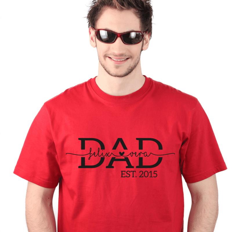 Papa Geburtstag, Papa Geschenk, Papa Geschenk personalisiert, Papa Geburtstag personalisiert, Papa T-Shirt, Papa T-Shirt mit Kindernamen, Papa T-Shirt mit Namen, Papa T-Shirt personalisiert, Papa Geburtstagsgeschenk, Papa T Shirt Geschenk, Papa T Shirt Tochter, Papa T Shirt Sohn, Papa T Shirt 4 XL, weltbester Papa, weltbester Papa T Shirt, Super Dad Shirt