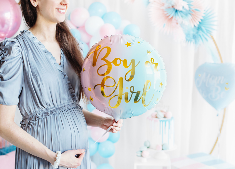Genderreveal, Genderreveal Luftballoon, Geschlechtsverkündung Baby, Babyparty, Babyparty Gender Reveal