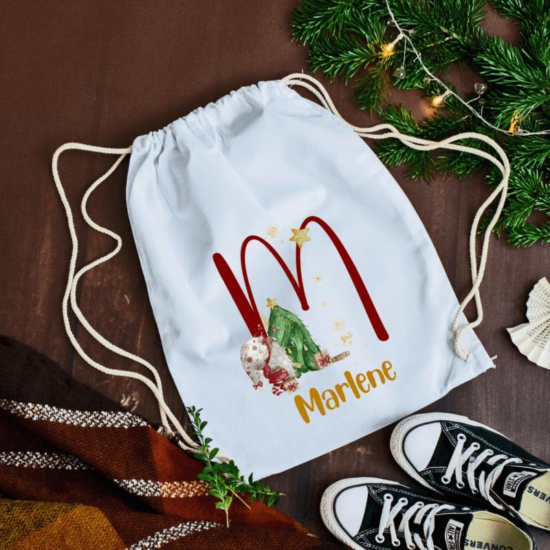 Nikolosackerl, Nikolaussackerl, Weihnachtsstrumpf, Nikolausstiefel, Weihnachtsstiefel, personalisierter Turnbeutel, personalisiertes Sackerl, personalisiertes Geschenk Weihnachten, Weihnachtsgeschenk personalisiert, Weihnachten personalisiert, Weihnachten personalisiert Name, Turnbeutel mit Name, Christbaum Deko, Stoffsackerl mit Weihnachtsmotiv, Weihnachtsmotive mit Name, Einkaufstasche personalisiert, Tasche personalisiert, Tasche mit Name, Einkaufstasche mit Namen