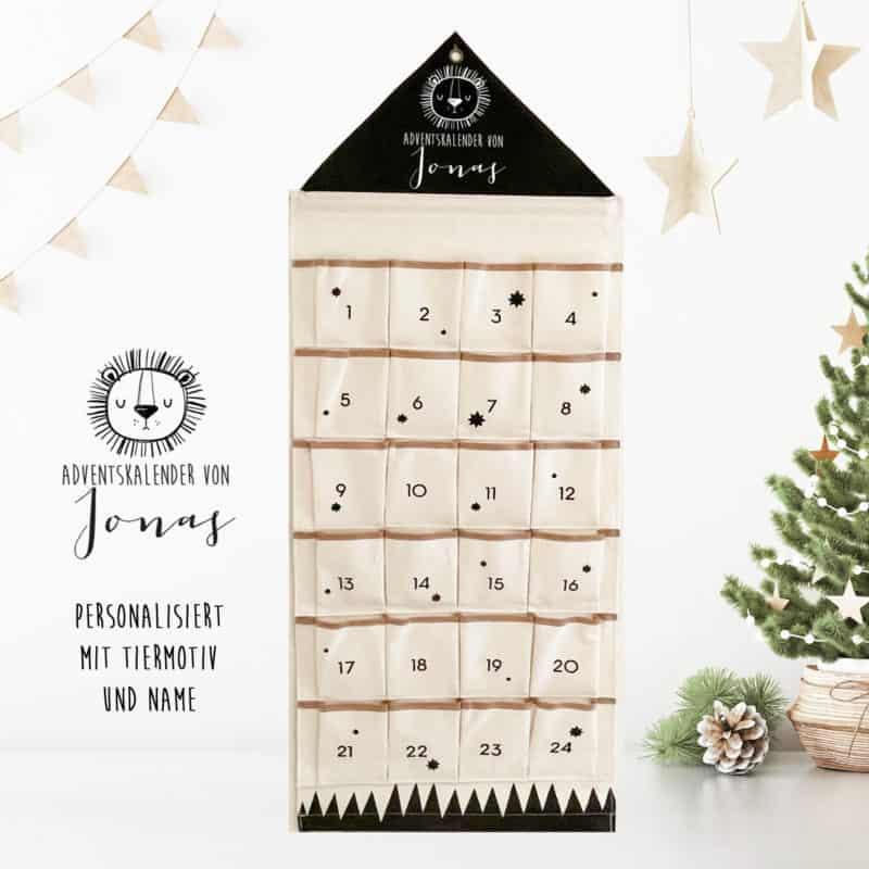 personalisierter Adventskalender aus Stoff mit Name , Adventskalender, Adventskalender Stoff, Geschenk Vorweihnachtszeit, Adventskalender für Kinder, Weihnachtsgeschenk Kinder, Weihnachten, Kalender, Kalender zum selber Befüllen, Adventskalender zum Befüllen, Adventskalender Säckchen, Adventkalender,