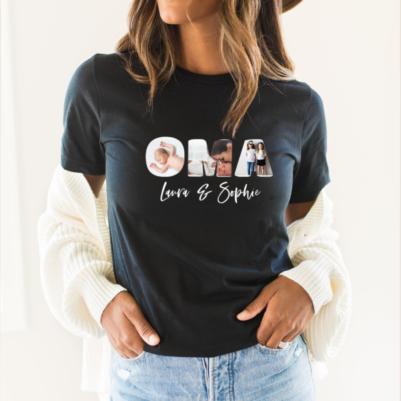 geschenk oma enkelkinder, T Shirt personalisiert, Muttertagsgeschenk, Geschenk-Ideen Muttertag, Geschenkideen Mama, Ideen Oma Geburtstag, Einkaufskorb Muttertag, Muttertag personalisiert, Geschenk für Oma mit Namen, Geschenk für Oma mit Kindernamen, Oma Geschenk, Geschenksideen für Oma, Fotogeschenk Oma, Fotogeschenk
